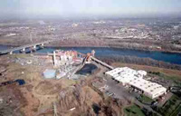 aerial view of Mid-Connecticut Waste-to-Energy Plant
